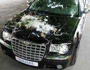 Свадебный Крайслер 300с. Машина на свадьбу. Феодосия,  Судак,  Керчь.