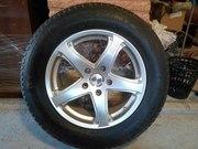 r18 шини з титановими дисками з італіїї 350$