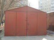 Предлагаю металлический разборной гараж в хорошем состоянии