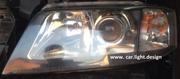 Установка линз и билинз в фары автомобиля СТО Сar-light.design