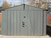 Продам металлический гараж,  уже разобран.
